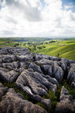 Summer landscape. Beautiful landscape in Yorkshire Dales National Park in England Royalty Free Stock Images