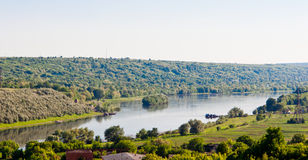 Summer landscape. Of the river Royalty Free Stock Images