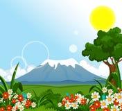 Summer landscape background Royalty Free Stock Image