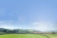 Summer landscape background Royalty Free Stock Photo
