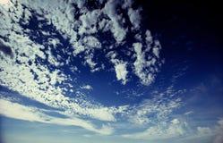 Summer landscape beautiful cumulus clouds. Carpathian, Ukraine, Europe Stock Photo