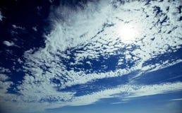 Summer landscape beautiful cumulus clouds. Carpathian, Ukraine, Europe Royalty Free Stock Image