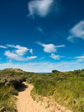 Summer landscape at the coast Royalty Free Stock Photography