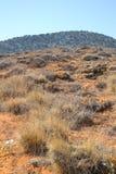 Summer landscape in Crete. Stock Photo