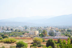 Summer landscape in Crete. Royalty Free Stock Photography