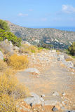 Summer landscape in Crete. Royalty Free Stock Images