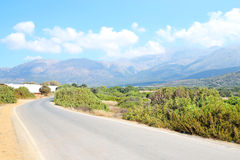 Summer landscape in Crete. Royalty Free Stock Photos
