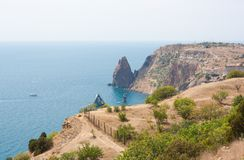Summer landscape in the Crimea. Royalty Free Stock Images