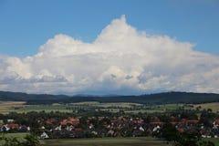 Summer landscape in eimem suburb. Stock Photography