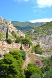Summer landscape in Greece. Royalty Free Stock Photos