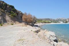 Summer landscape, Greek. Royalty Free Stock Photos