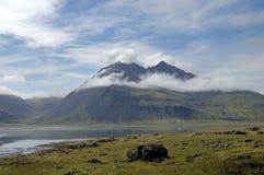 Summer landscape in Iceland. Stock Images
