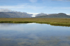 Summer landscape in Iceland. Royalty Free Stock Images
