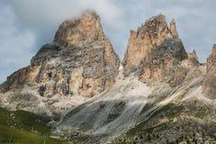 Summer landscape in the italian Dolomites, Alto Adige royalty free stock photo