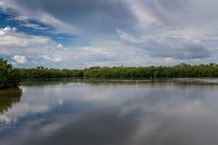 Summer Landscape, J.N. Ding Darling National Wildlife Refuge. Landscape, J.N. Ding Darling National Wildlife Refuge, Sanibel Island, Florida, USA Royalty Free Stock Photo