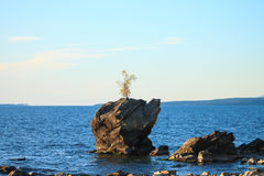 Summer Landscape, Lake Baikal Royalty Free Stock Image