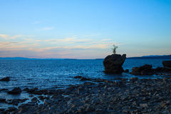 Summer Landscape, Lake Baikal Royalty Free Stock Photo