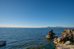 Summer Landscape, Lake Baikal Stock Images