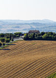 Summer landscape in Marches (Italy) Royalty Free Stock Photos