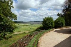 Summer landscape. Mikhailovskoye, Pskov region Royalty Free Stock Photo