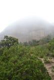 Summer landscape in Montserrat Mountain Stock Photos