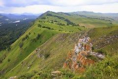Summer landscape of Mountain Devil's Finger. Stock Photos