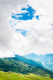 Summer landscape in mountains Royalty Free Stock Photography