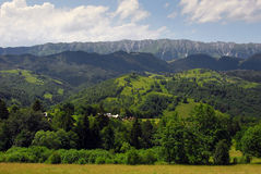 Summer landscape in the mountains of Romania Royalty Free Stock Photo