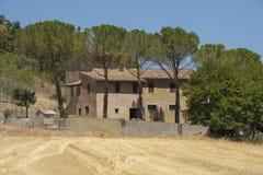 Summer landscape near Perugia Stock Image