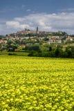 Summer landscape near Volterra, Tuscany Royalty Free Stock Photo