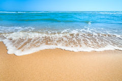 Summer Landscape - Relax on the  Beach Royalty Free Stock Images