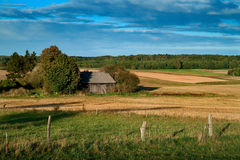Summer landscape in rural Poland Royalty Free Stock Image