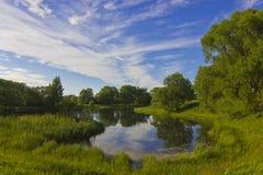 Summer landscape, Russia Stock Image
