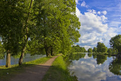 Summer landscape, Russia Royalty Free Stock Images