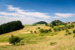 Summer landscape by Seitenroda Royalty Free Stock Photo