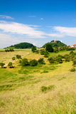 Summer landscape by Seitenroda Royalty Free Stock Photos