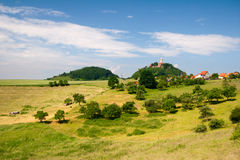 Summer landscape by Seitenroda Stock Image