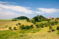 Summer landscape by Seitenroda Stock Image