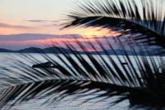 Sunset on the Adriatic Sea. Summer Landscape / Sunset on the Adriatic Sea Royalty Free Stock Photos