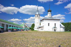 Summer landscape in Suzdal Stock Photography