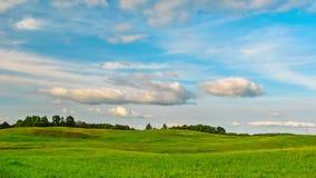 Summer Landscape,  time-lapse. Summer Landscape, tilt  time - lapse stock video