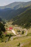 Summer landscape of Transfagarasan highway Stock Photos
