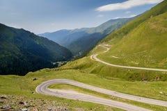 Summer landscape of Transfagarasan highway Royalty Free Stock Photography
