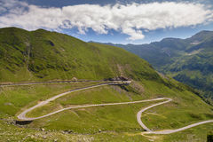 Summer landscape of Transfagarasan highway Stock Photo