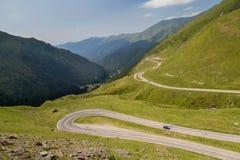 Summer landscape of Transfagarasan highway Royalty Free Stock Images