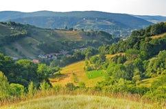Summer landscape in Transylvania Stock Image