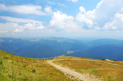 Summer landscape in Transylvania Stock Photography