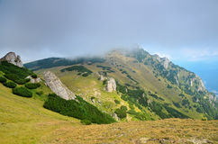 Summer landscape in Transylvania, Romania Stock Photos