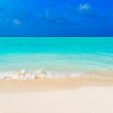 Summer Landscape of Tropical Beach Royalty Free Stock Photos