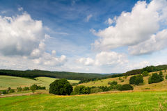 Summer Landscape Unterbodnitz Royalty Free Stock Photo